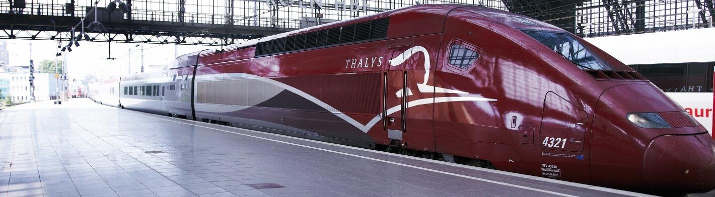 Thalys: Paryż - Amsterdam - Bruksela - Kolonia